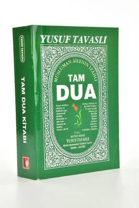 TAVASLI YAYINEVİ - Tam Dua Kitabı - Yusuf Tavaslı-1981