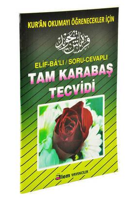 Alem Yayıncılık - Tam Karabaş Tecvidi - Orta Boy Alem Yay