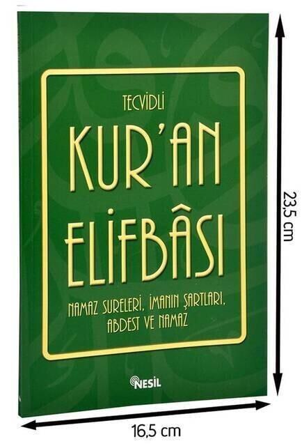 Tecvidli Kur'an Elifbası-1667