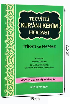 Huzur Yayınevi - Tecvitli Kuranı Kerim Hocası-1666