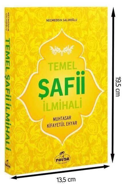 Temel Şafii İlmihali - Karton Kapaklı - Ravza Yayınları-1459