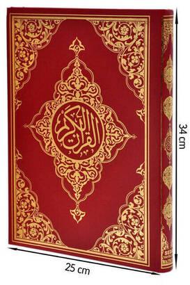 Seda Yayınları - The Holy Quran - Arabic - Moque (Large) Size - Seda Publishing House - Computer Calligraphy