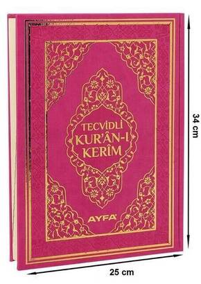 Ayfa Yayınevi - The Holy Quran with Tajweed - Thermo Leather - Mosque Size - Big Size Quran - Ayfa Kuran