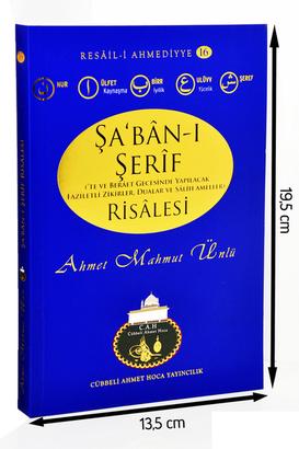 Cübbeli Ahmet Hoca Yayıncılık - The Treatise of Cübbeli Ahmed Hoca Şaban-ı Şerif-1144