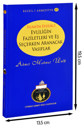 Cübbeli Ahmet Hoca Yayıncılık - The virtues of marriage and qualifications to be sought in choosing a spouse-1196