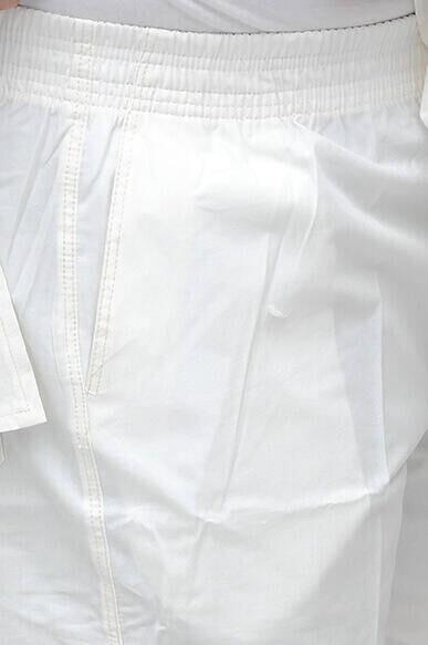 Umre ve Hac Kıyafeti Afgan Takımı - Beyaz - 1178