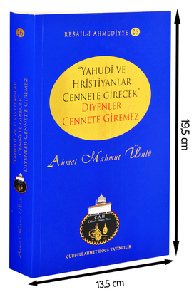 Cübbeli Ahmet Hoca Yayıncılık - Yahudi Ve Hristiyanlar Cennete Girecek Diyenler Cennete Giremez-1188