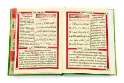 Yasin Kitabı - Çanta Boy - 128 Sayfa - Fihristli - Ayfa Yayınevi - Cemiyet Hediyesi