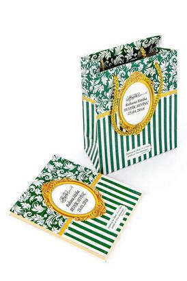 Furkan Neşriyat - Yasin Kitabı - Çanta Boy - 128 Sayfa - Özel İsim Etiketli - Karton Çantalı - Yeşil Renk - Mevlid Hediyeliği
