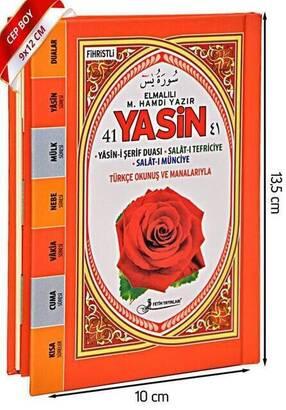Fetih Yayınları - Yasin Kitabı - Cep Boy - 128 Sayfa - Fetih Yayınları - Mevlüt Hediyeliği