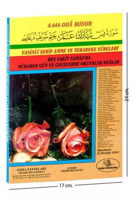 ESMA YAYINEVİ - Yasin Kitabı - Orta Boy - 160 Sayfa - Çift Güllü - Esma Yayınevi - Mevlid Hediyeliği