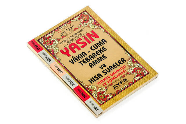 Yasin Book - Bag Boy - 128 Pages - Fihristli - Ayfa Publishing House - Mevlut Gift