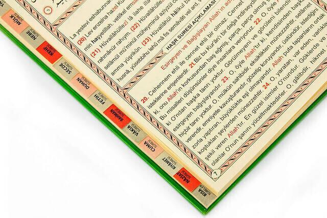 Yasin Book - Medium Size - 128 Pages - Hardli - Fihristli - Ayfa Publishing House - Mevlid Gift