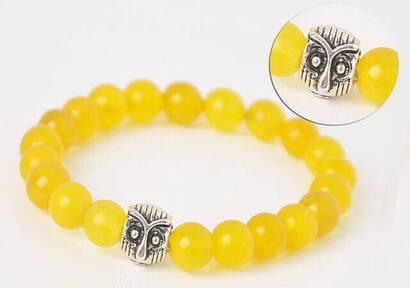 İhvan - Yellow Flowstone Bracelet