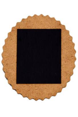 Yuvarlak Ahşap Magnet - 1115