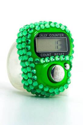 İhvan - Zirkon Zikirmatik - Digital Ring - Green