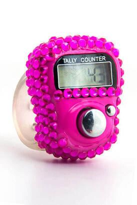 İhvan - Zirkon Zikirmatik - Digital Ring - Pink